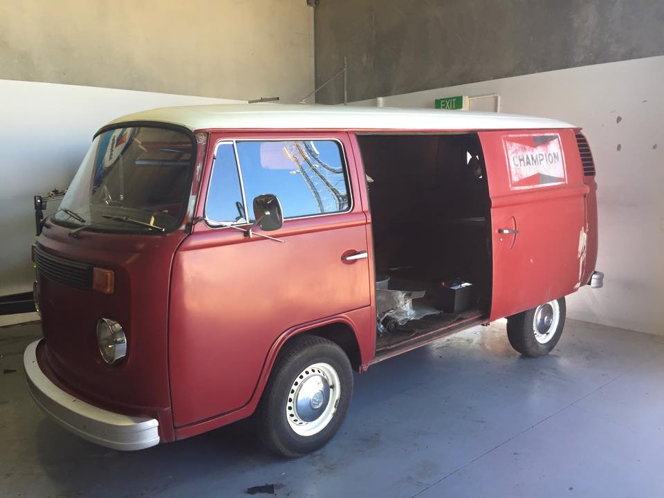 vw camper work
