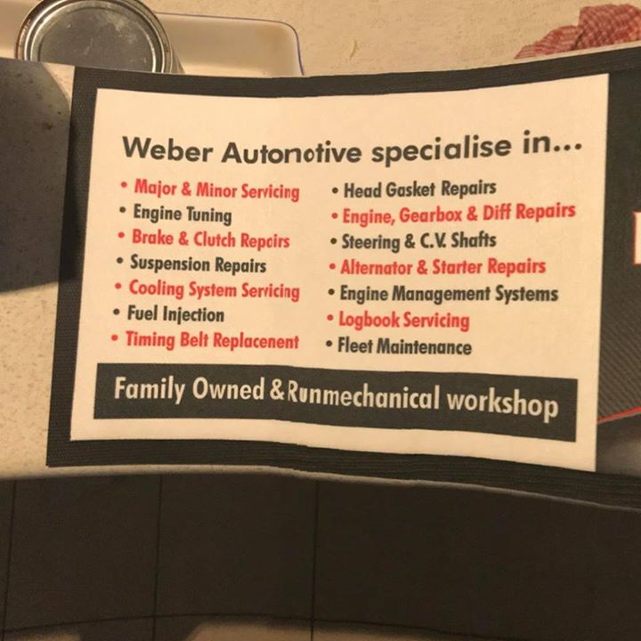 weber specialists