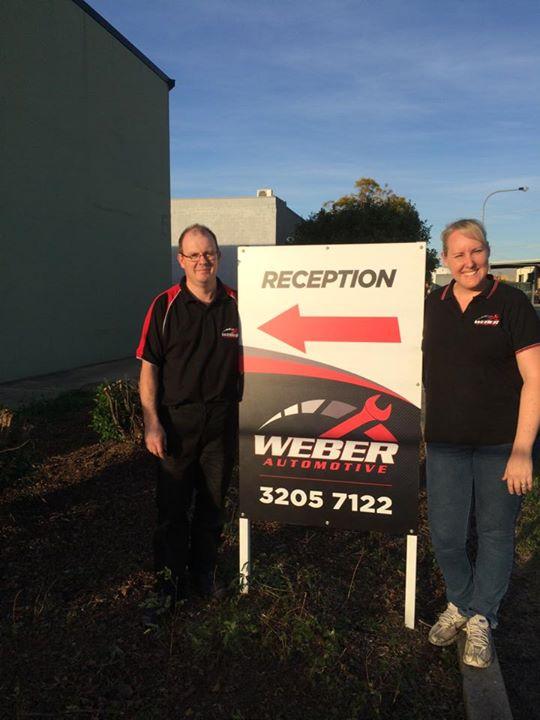 weber reception