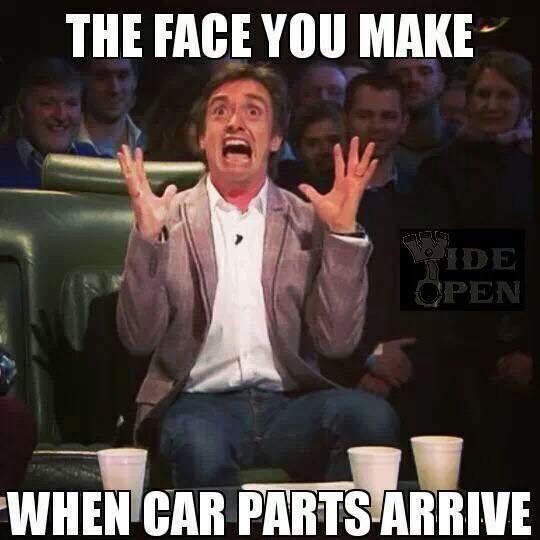 car parts face