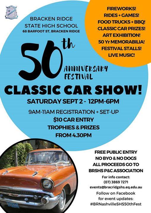 50th car show