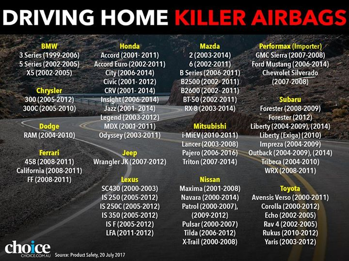 killer airbags