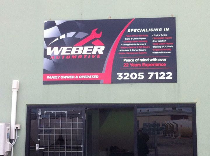 weber business card