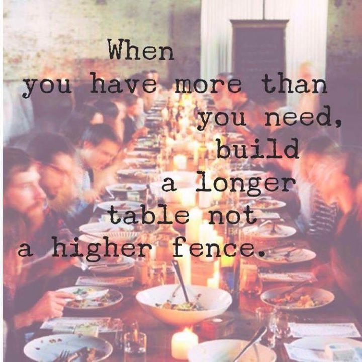 longer table