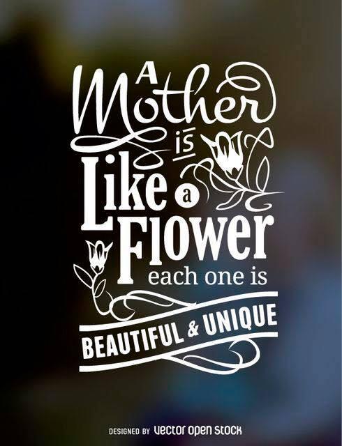 like a flower