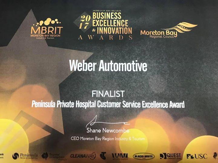 Weber 2017 Finalists