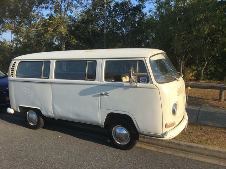 VW Camper Parked