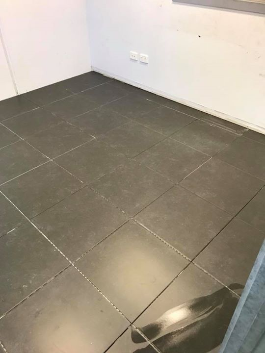 New Tiles Laid