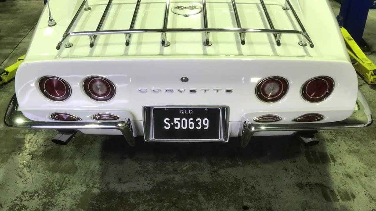 Corvette Rear Classic