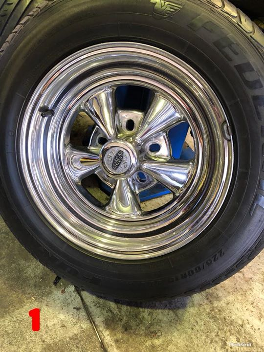 Old School Alloy Wheel